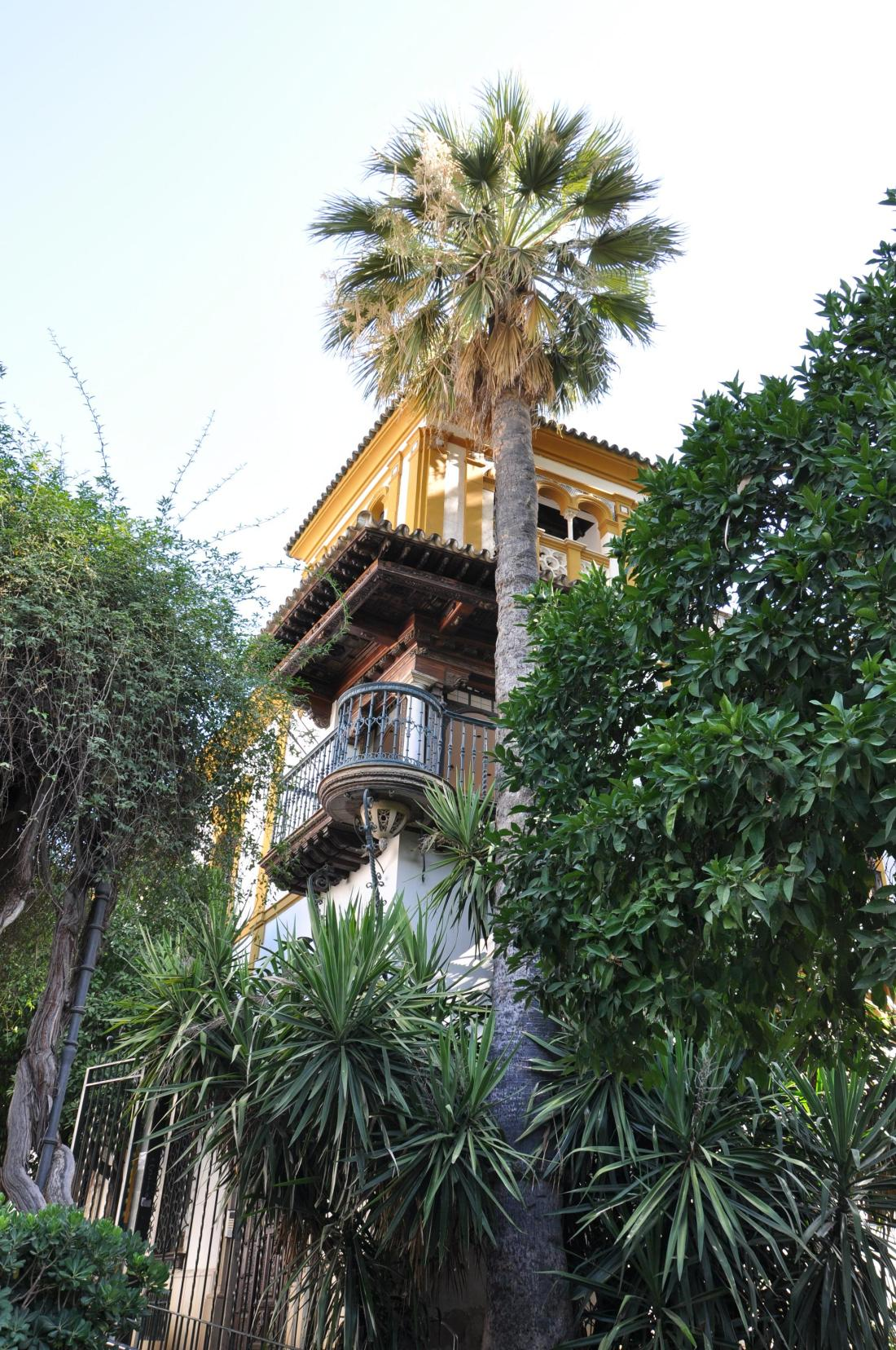 seville ornate balcony
