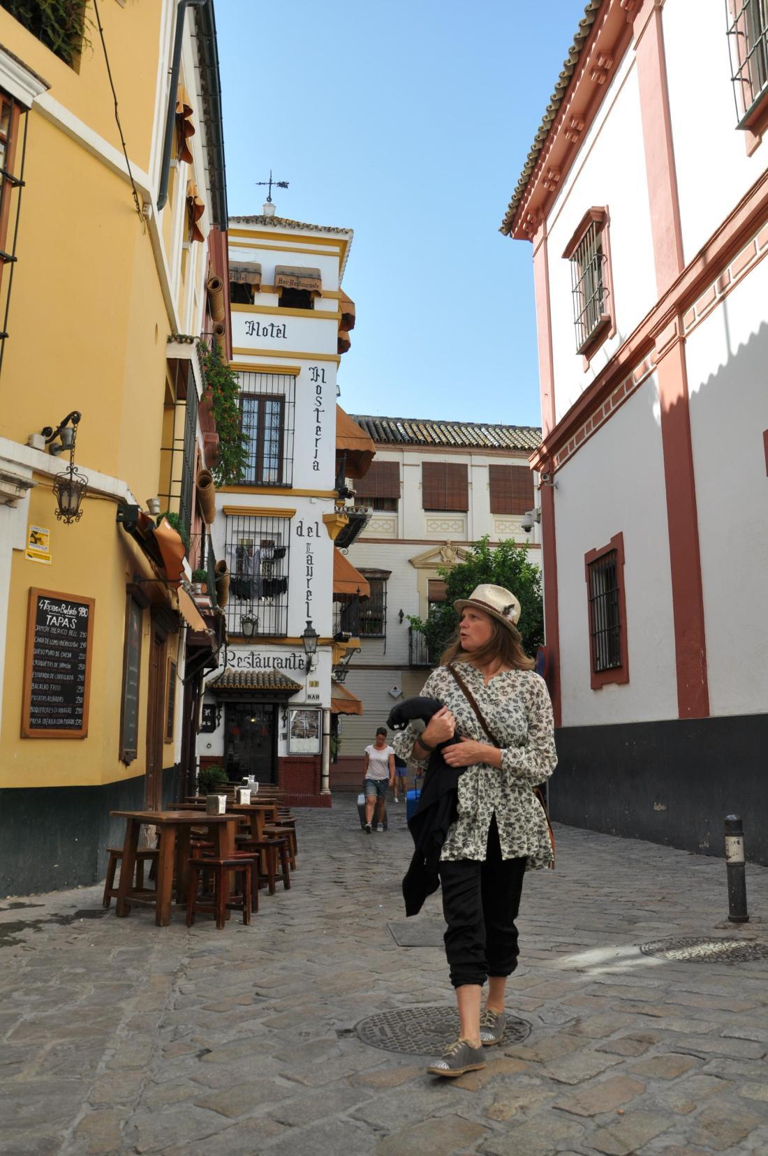 seville wandering around
